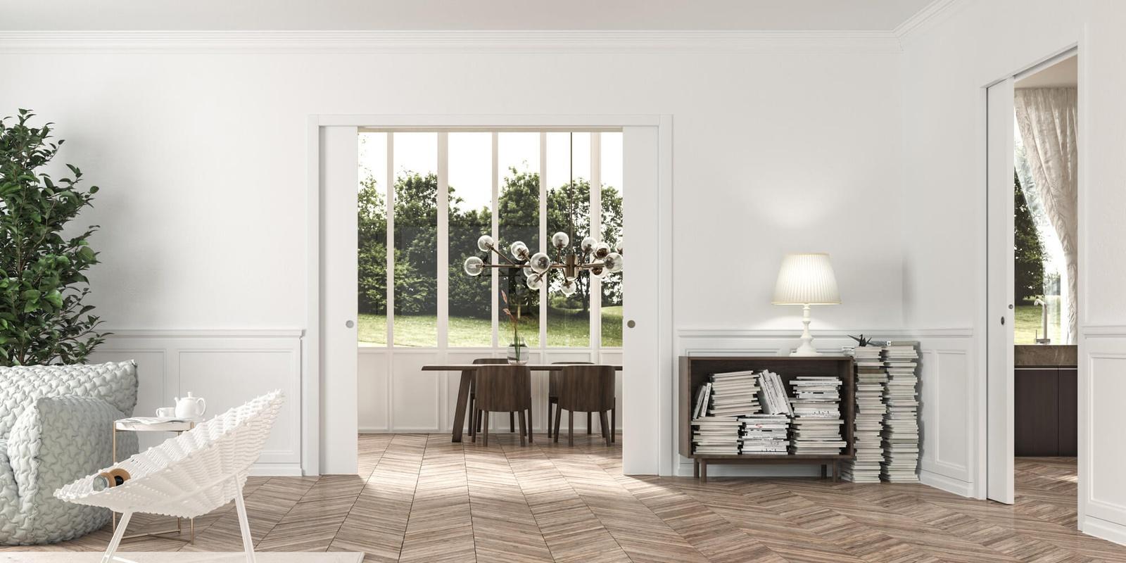 5 accessori per porte scorrevoli che miglioreranno comfort e funzionalità.