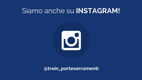 Tre In Porte e Serramenti ora è anche su Instagram!